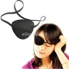 UK Medical Use Concave Eye Patch Foam Groove Adjustable Strap Washable Eyeshades