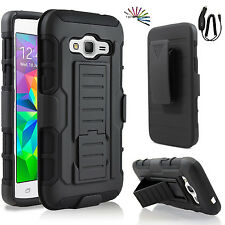 Samsung Galaxy Core Prime G360 IR Hybrid Rugged Holster Case Cover Sta