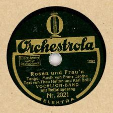 VOCALION-BAND & REFRAINGESANG Rosen und Frau'n/ Es gibt eine Frau...  20 cm  M71
