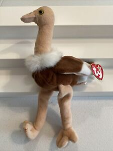 1997 TY Beanie Baby ~ STRETCH The Ostrich ~