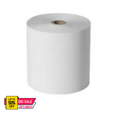 More details for 20 rolls 80x80mm thermal paper till roll for epos terminal printer th80-01