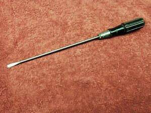 "Vintage Yankee North Bros. No.85 Flat Head Screwdriver.8-1/2"" Shank"