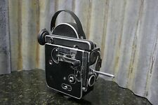 Bolex H16 Reflex 16mm Movie Camera C-Mount Includes Caps & Eyecup FREE SHIPPING