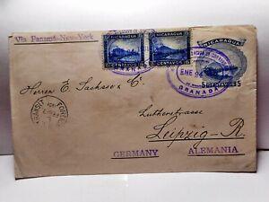 Nicaragua - 6 Ganzsachen vor 1900 - top