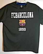Classic FC Barcelona Men's Large Soccer T Shirt Black