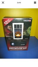 Animated Window Projector Atmos FX Kit Christmas Display +  Extra Videos
