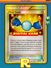SR Rare Candy (BW) - Secret Rare - for Pokemon TCG Online ( ptcgo in Game Card)