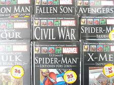 Deutsche Comic-Serien von Marvel