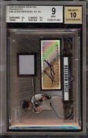 2008 Bowman Sterling Jesus Montero Rookie RC Jersey BGS 9 Autograph 10 Auto 07