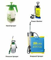 New Garden Pressure Sprayer Chemical Weed Killer Fence Knapsack Hand Pump