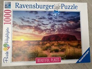 Ravensburger - 1000 PIECE JIGSAW PUZZLE - Ayers Rock Australia ~ made once 🧩