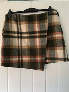Ladies Checked Wrap Skirt 12