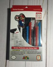 Officially Licensed Nintendo – Mario Stylus Pen and Screen Protection Pack 3DS