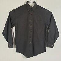 Brooks Brothers Mens Dress Shirt Button Down Long Sleeve 100% Cotton Size Medium