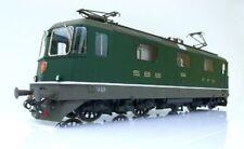 Kiss 410050 SBB Re 4/4 II 11224 Verde V Locomotiva elettrica Traccia 0