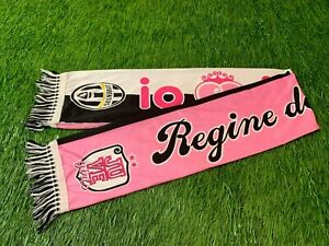 JUVENTUS ITALY JUVE GIRLS FOOTBALL SOCCER FAN SCARF OFFICIAL LICENSED PRODUCT