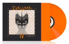 ENIGMA - THE SCREEN BEHIND THE MIRROR, 2018 EU 180G ORANGE vinyl LP, SEALED!