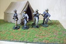 confederate soldiers 1/32 scale set of 4 professionally painted