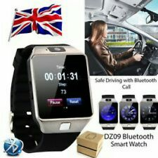 Bluetooth DZ09 Smart Watch For Android HTC Samsung iPhone iOS Camera SIM Slot!