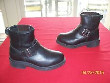 Harley-Davidson motorcycle biker leather boots 6.5 M Excellent Condition!