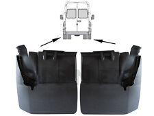 MERCEDES SPRINTER MK2 II 06- MUD FLAPS 2 REAR MUDFLAPS LEFT + RIGHT SET   - twin