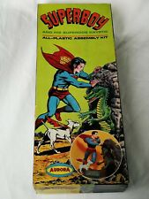 Aurora Superboy Empty Box Vintage For Model Kit