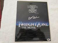 "Bam Box  Twilight Zone Larry Cedar ""The Gremlin"" signed auto  with COA  A NEW"