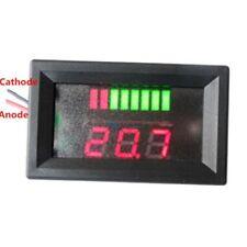 12v LED indicatore della batteria Voltmetro Monitor Level Meter Gauge Lampada Indicatore di una