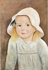 vintage postcard Art Poland Tadeusz Makowski Dziewczynka w białym #122 post card