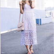 Anthropologie Bridesmaid Wedding Guest Purple Celane Lace Dress Size XS Hd Paris