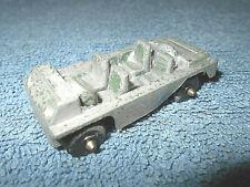 """Vintage Midgetoy Diecast Metal 2 1/2"""" Battle Bug Army Jeep Vehicle"""