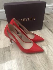 Carvela Khameleon Red Patent Heels