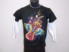 NEW COOL FLYING GUITAR graphic tee YOUTH SIZE 14-16 T-SHIRT 67GH