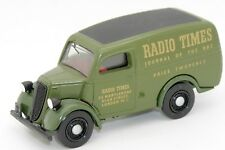 DINKY MATCHBOX 1/43 FORD E83W VAN 1950 RADIO TIMES #DY-4