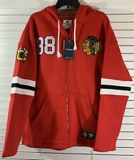 Patrick Kane Chicago Blackhawks Fanatics Branded Breakaway Full-Zip Hoodie Red