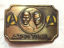 Special Metal Belt Buckle STAR Trek Arrow Fashion  Cowboy Mens Boys Golden
