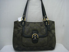 Coach CAMPBELL BELLE Green Carryall Bag F26246 nwt $378 msrp
