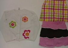 EUC Lot of 3 Gymboree Size 7/8 Skort Car Tea For Two Pretty Lady Growing Flowers