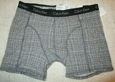 CALVIN KLEIN Sport Cotton Stretch Boxer Brief  Men's size XL Gray  NEW