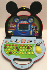 Vtech Mickey Mouse Clubhouse Mousekadoer Teaching Laptop Games Ltrs/Nbrs Music