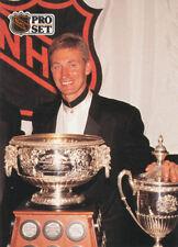 New listing Wayne Gretzky 1991-92 Pro Set French #324 Kings Hockey Card