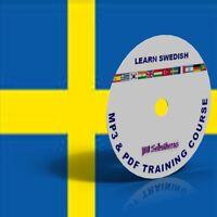 Learn To Speak Swedish Language fluently Course DVD, MP3 & PDF, Sweden language