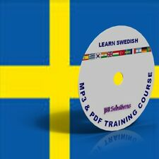 Learn To Speak Swedish Language fluently Course DVD, MP3 & PDF, Sweden language
