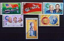 1975 Serie Completo francobolli TOGO ESPACE NUOVO MNH 88M910