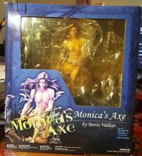 BORIS VALLEJO MONICA'S AXE STATUE 1/6 SCALE RARE.