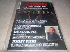 COUNTRY MUSIC CAPITAL NEWS MAGAZINE - ZAC BROWN BAND-THE MAVERICKS-JIMMY WEBB