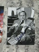 Lawyer JOHN DEAN Signed 4x6 Photo WATERGATE SCANDAL AUTOGRAPH
