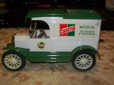 "ERTL #9463 ""CASTROL MOTOR OIL"" 1913 MODEL T VAN  STOCK  Black Tires (MIB)"