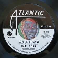 HEAR Dan Penn 45 Love Is Strange/Nice Place To Visit  deep soul R&B promo