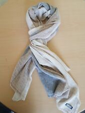 NEW 100% CASHMERE FAIR TRADE PASHMINA SCARF SHAWL WRAP MADE IN NEPAL 200X70 CM 2